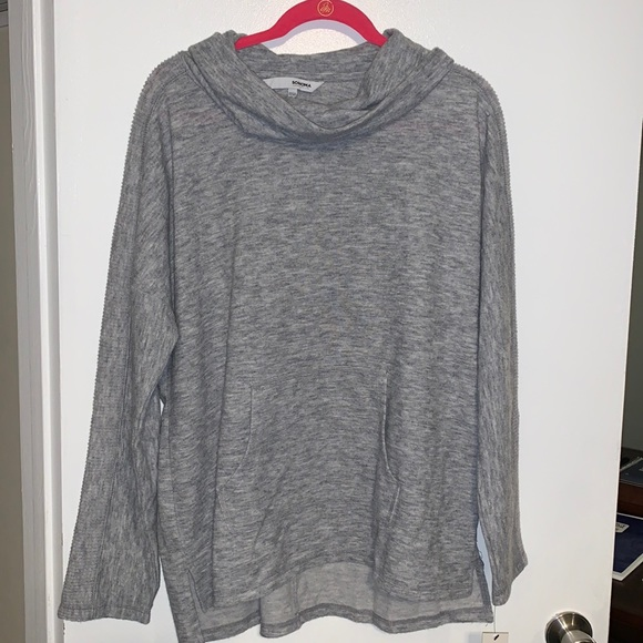 NWT Sonoma Grey Sweatshirt